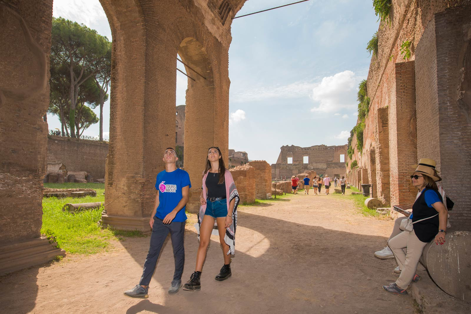 3Hour Colosseum, Forum and Palatine Hill