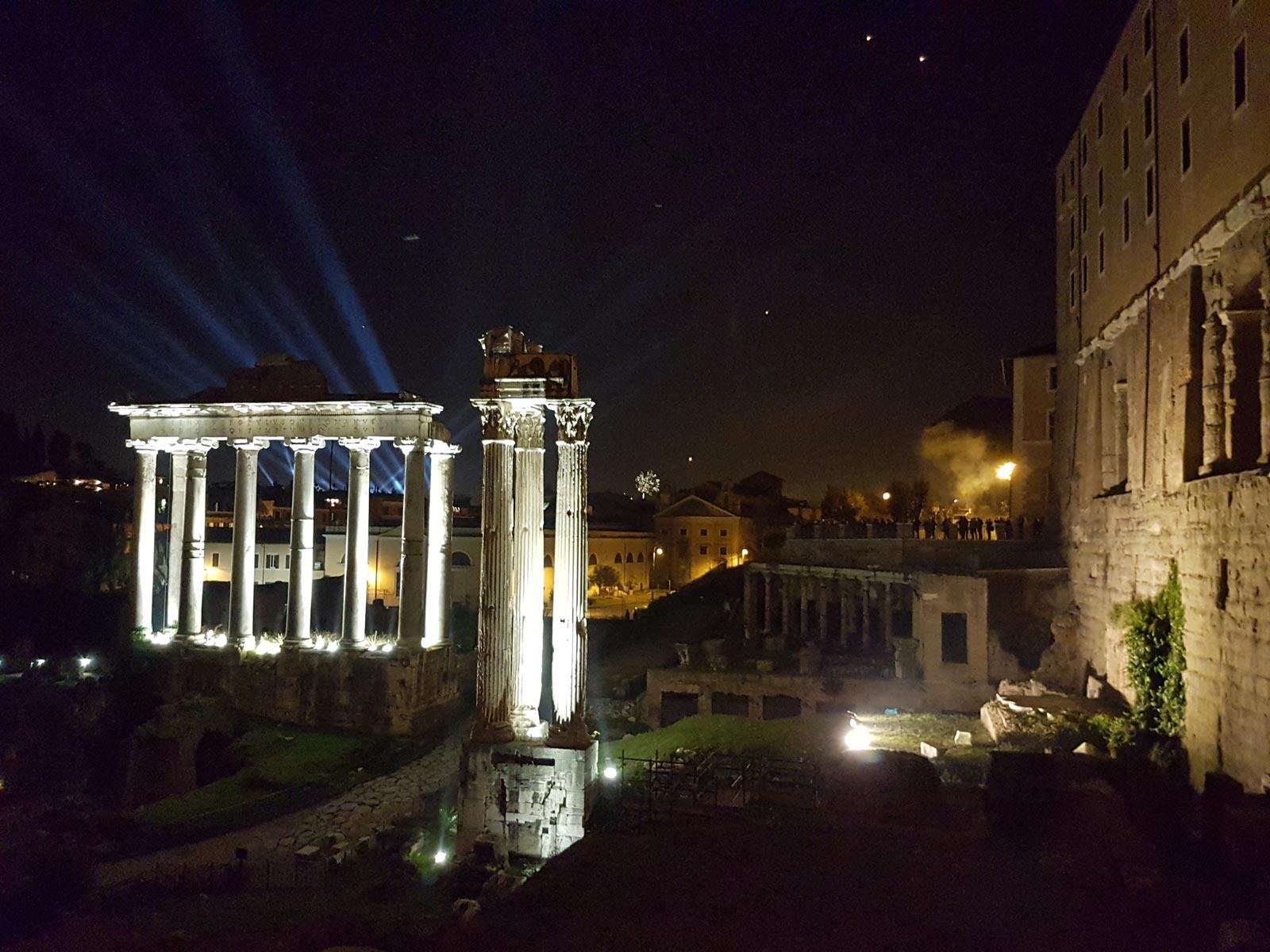 Enchanting Rome by Night