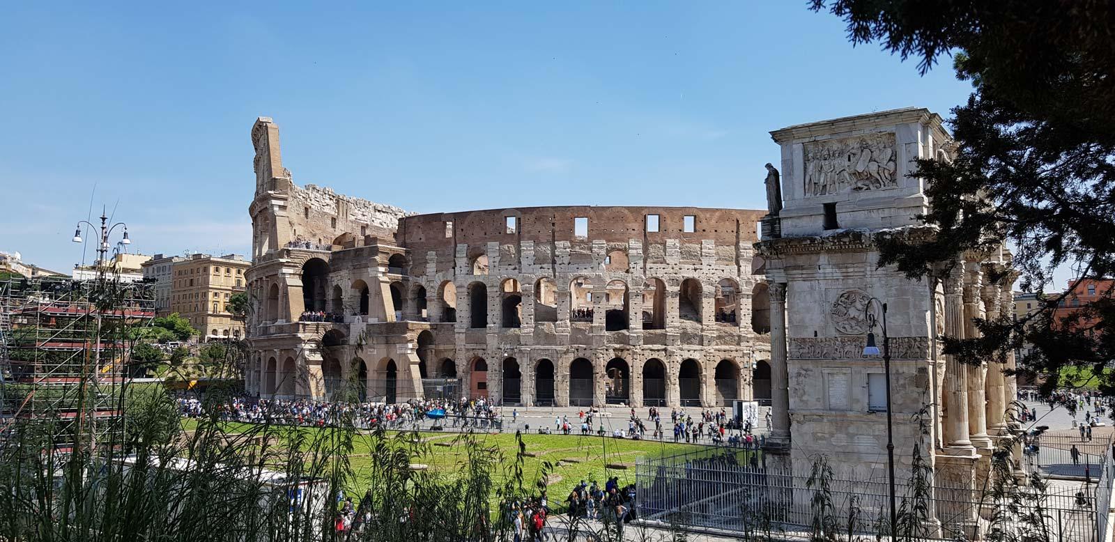VIP Colosseum, Arena, Underground, Forum and Palatine Hill