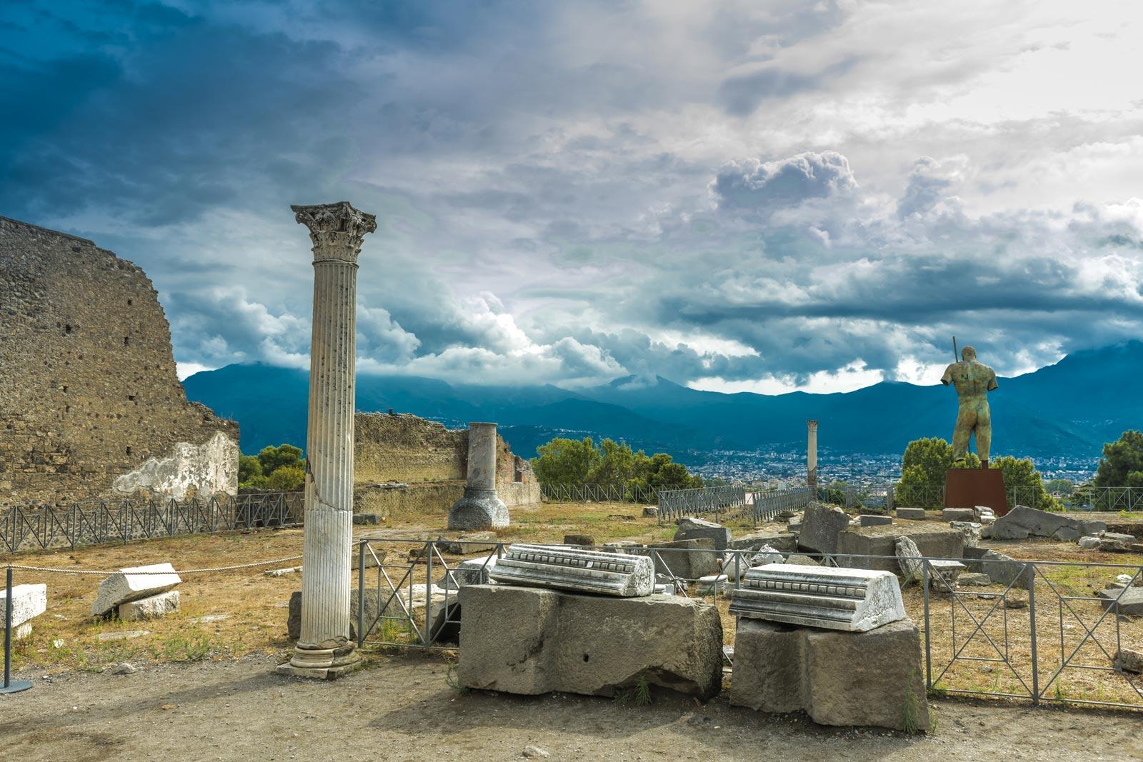 Round-Trip Shuttle bus service to Pompeii
